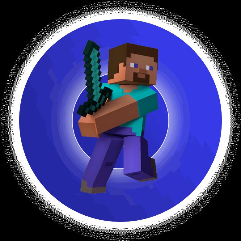 Urodzinowa zabawa w minecraftcie jako Steve